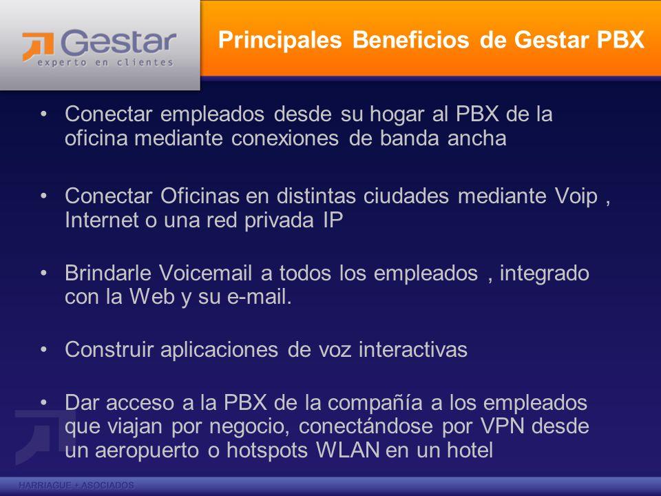 Principales Beneficios de Gestar PBX