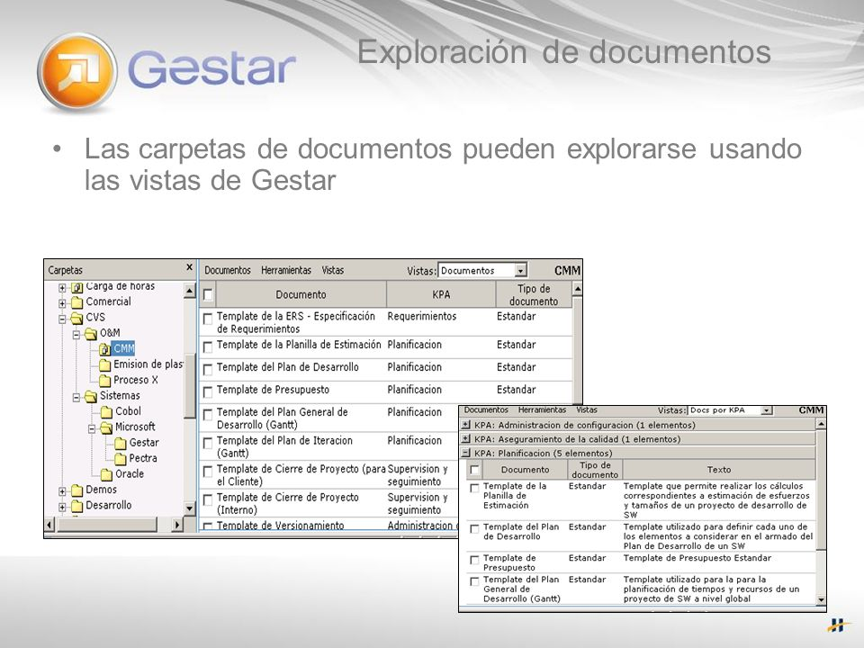 Exploración de documentos
