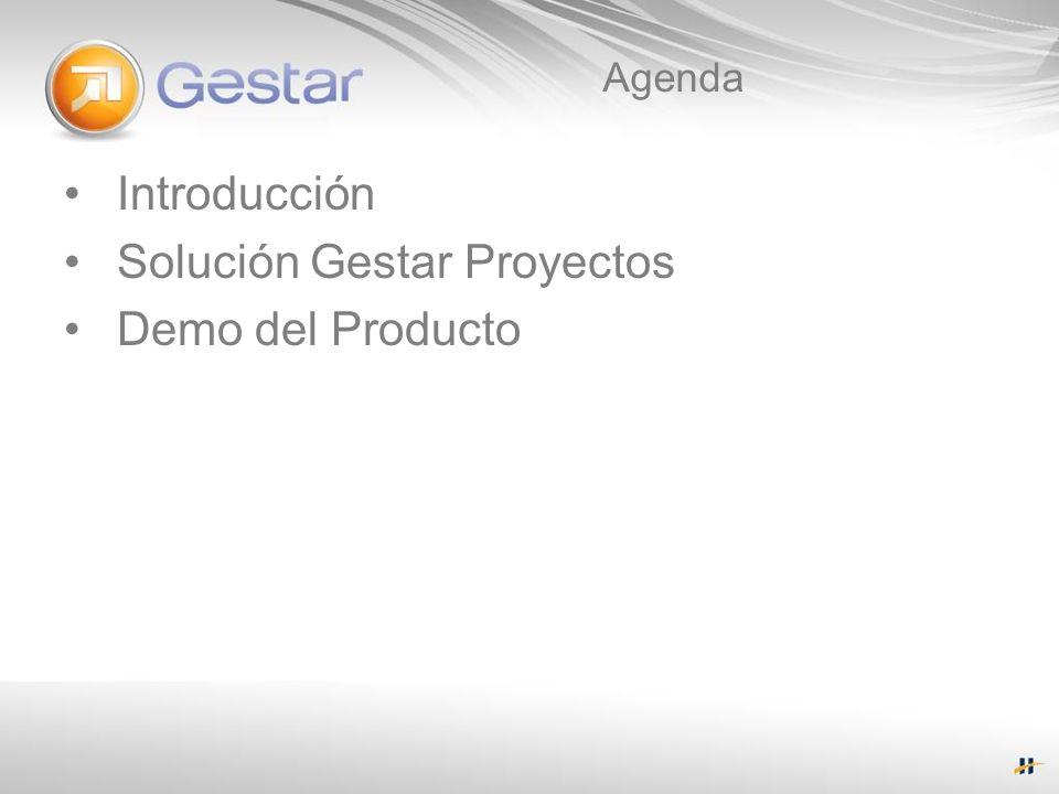 Solución Gestar Proyectos Demo del Producto