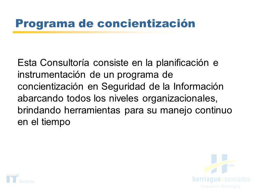 Programa de concientización
