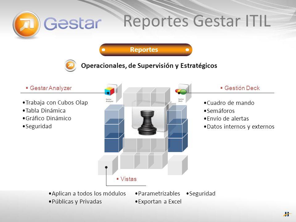 Reportes Gestar ITIL Reportes