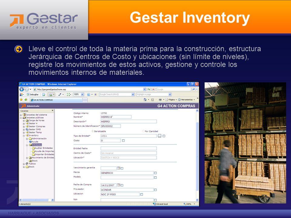 Gestar Inventory