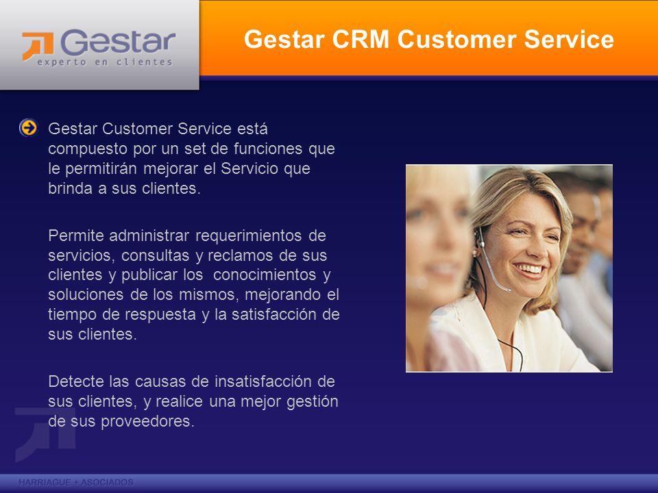 Gestar CRM Customer Service