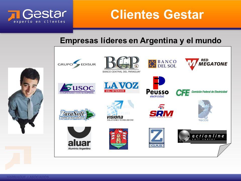 Empresas líderes en Argentina y el mundo