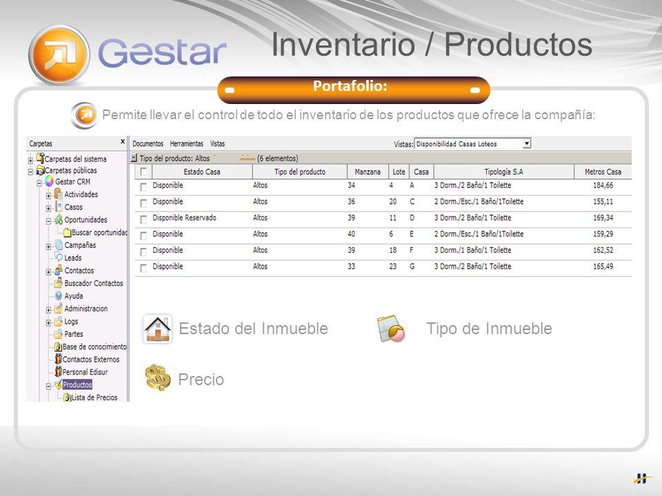 Inventario / Productos