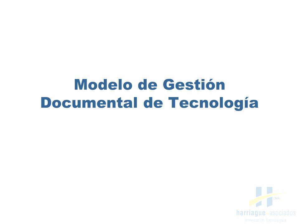 Modelo de Gestión Documental de Tecnología