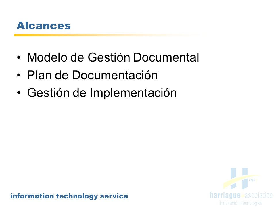Modelo de Gestión Documental Plan de Documentación