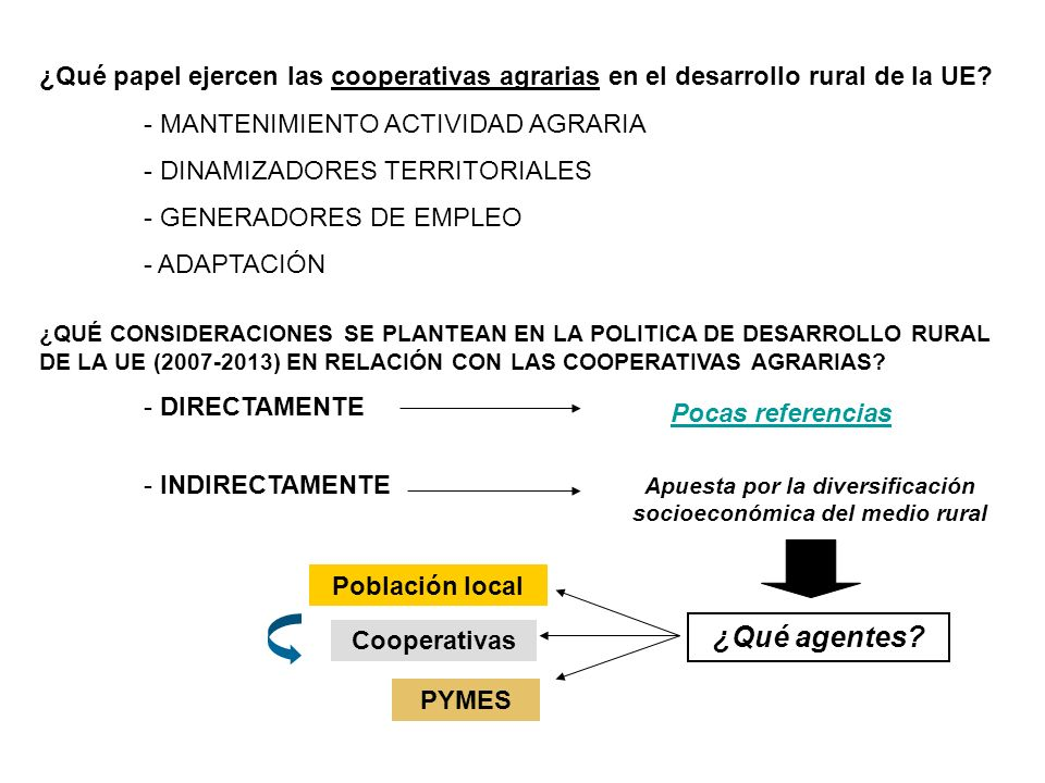 Apuesta por la diversificación socioeconómica del medio rural