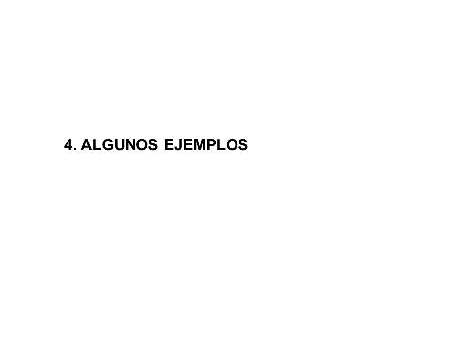 4. ALGUNOS EJEMPLOS