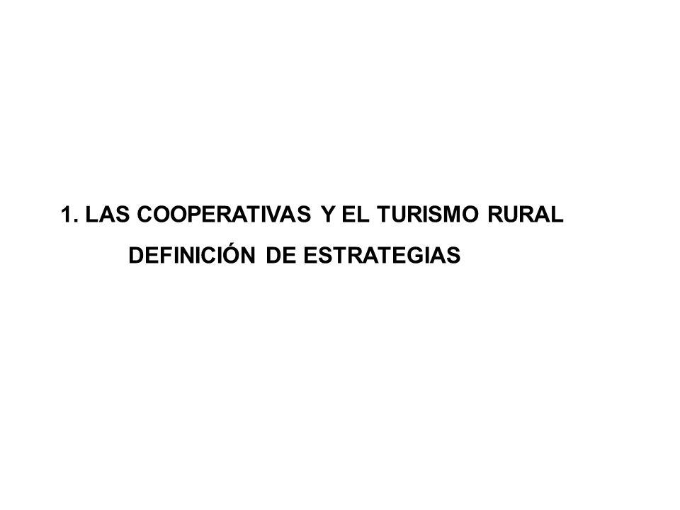 1. LAS COOPERATIVAS Y EL TURISMO RURAL