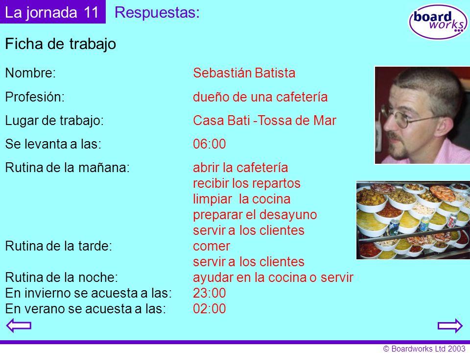 La jornada 11 Respuestas: Ficha de trabajo Nombre: Sebastián Batista