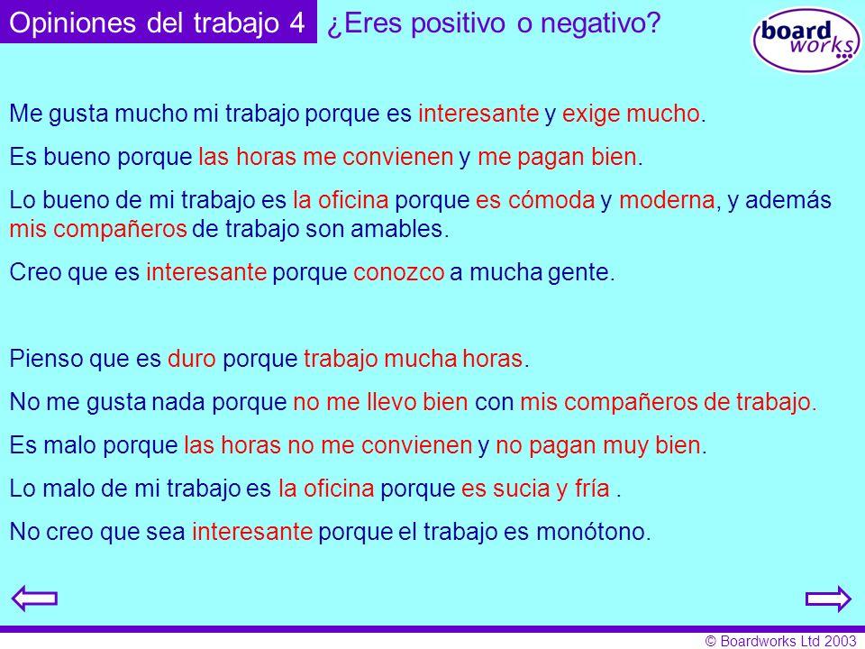 ¿Eres positivo o negativo