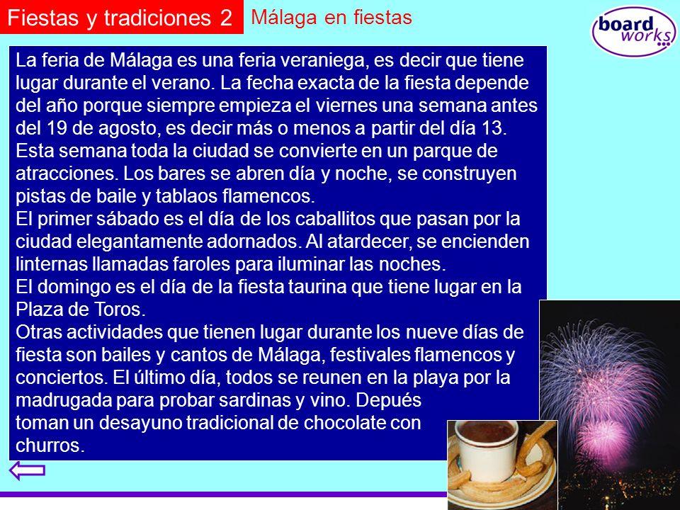 Fiestas y tradiciones 2 Málaga en fiestas