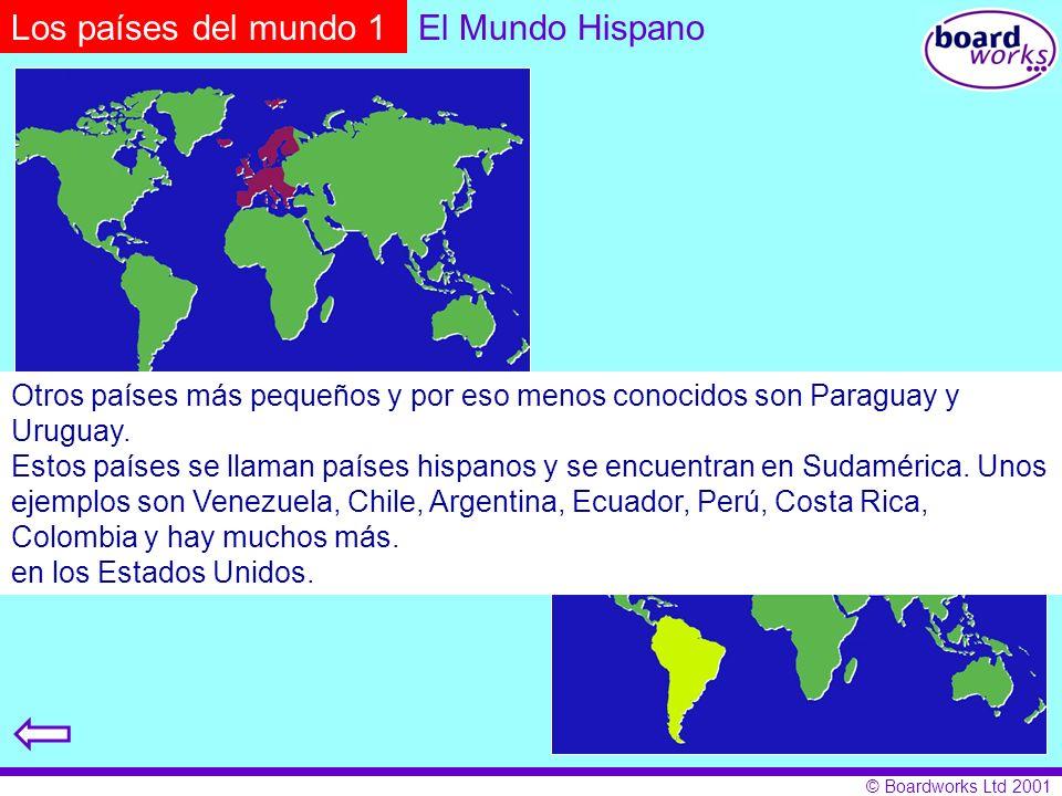 Los países del mundo 1 El Mundo Hispano