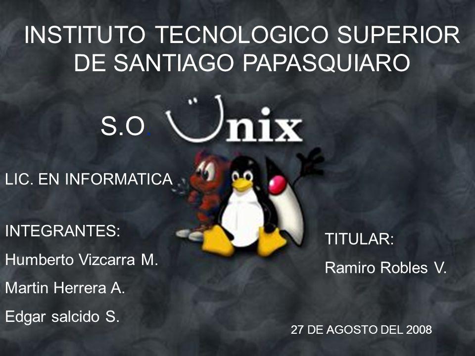 INSTITUTO TECNOLOGICO SUPERIOR DE SANTIAGO PAPASQUIARO