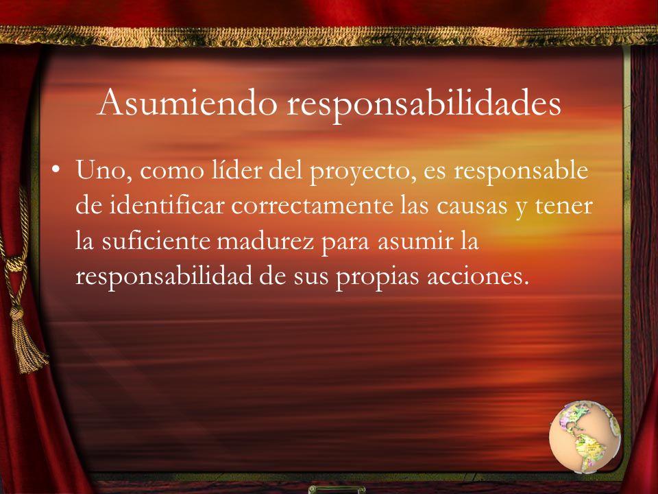 Asumiendo responsabilidades