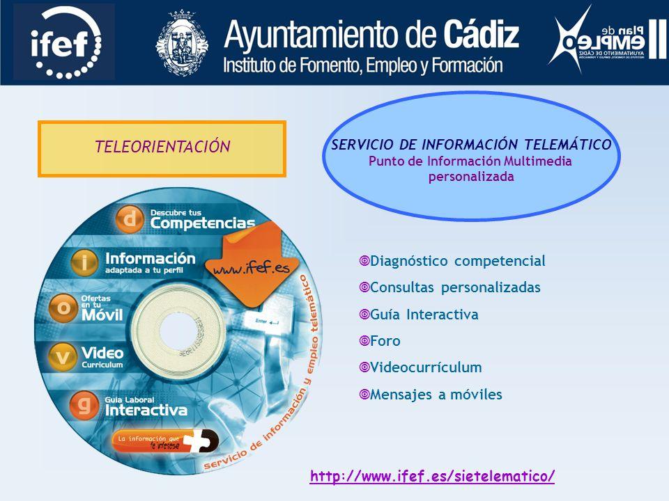 SERVICIO DE INFORMACIÓN TELEMÁTICO Punto de Información Multimedia