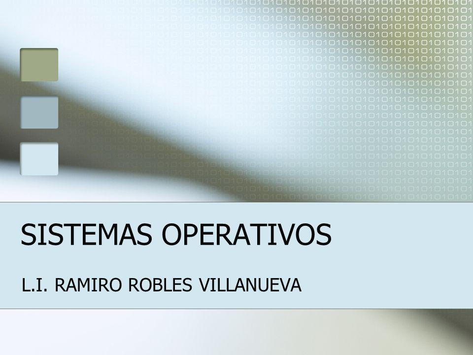 L.I. RAMIRO ROBLES VILLANUEVA
