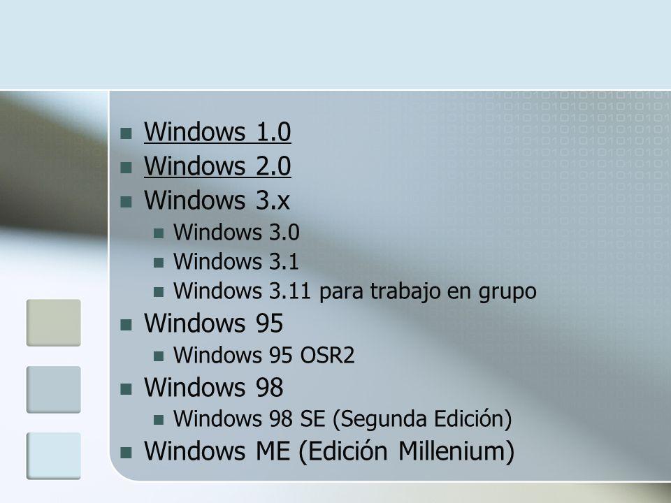 Windows ME (Edición Millenium)