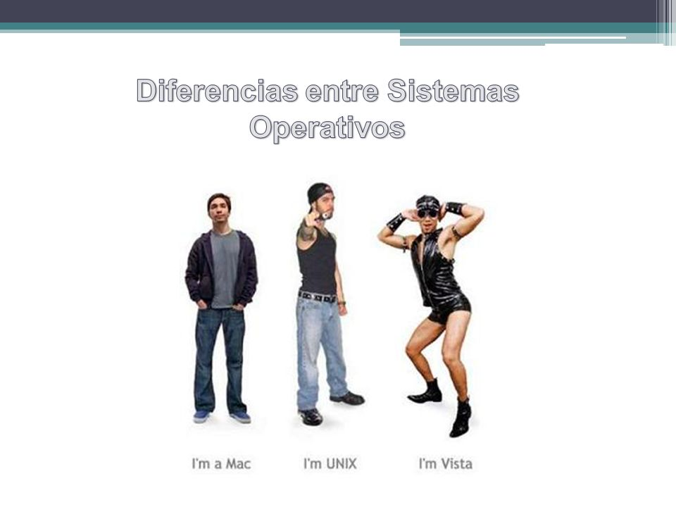 Diferencias entre Sistemas Operativos