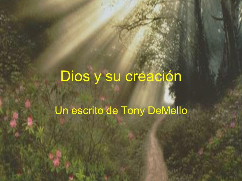 Un escrito de Tony DeMello