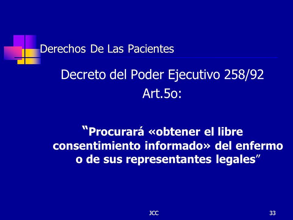 Derechos De Las Pacientes