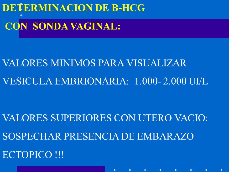 DETERMINACION DE B-HCG