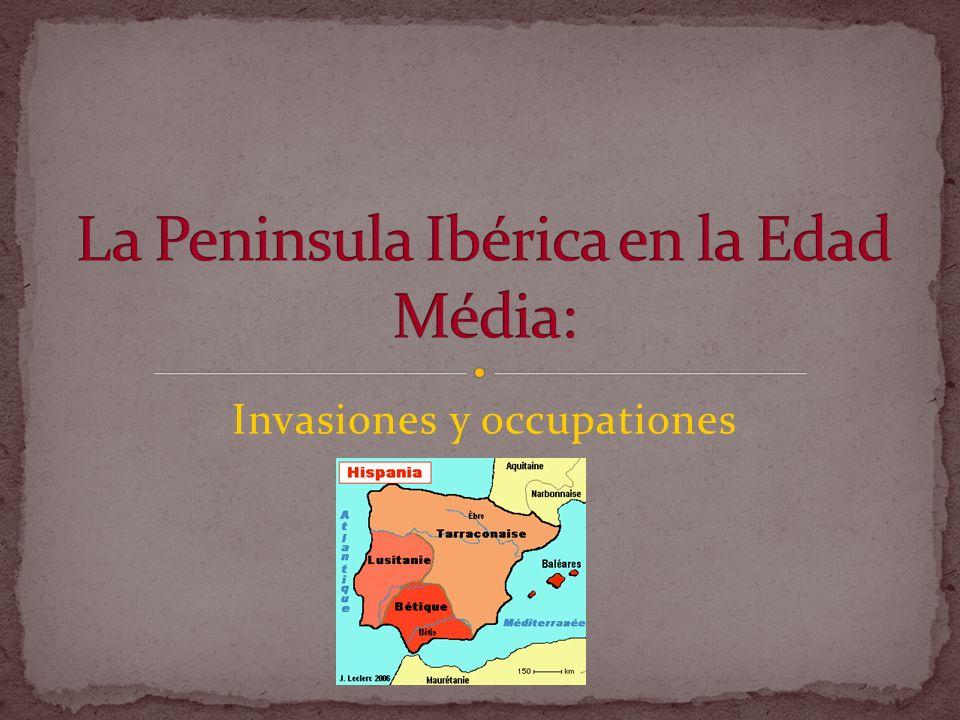 La Peninsula Ibérica en la Edad Média:
