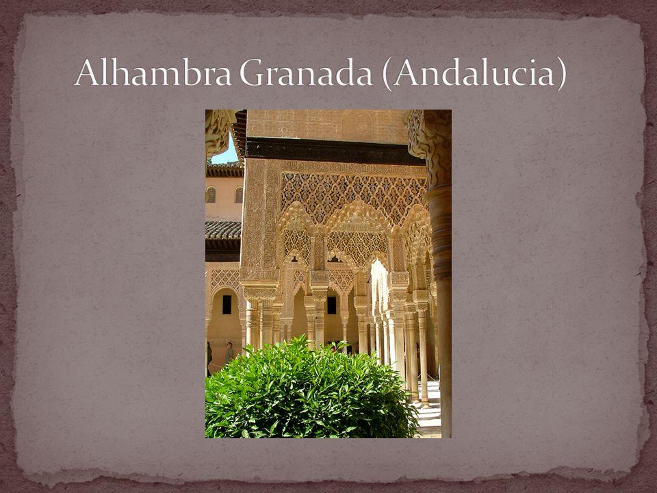 Alhambra Granada (Andalucia)