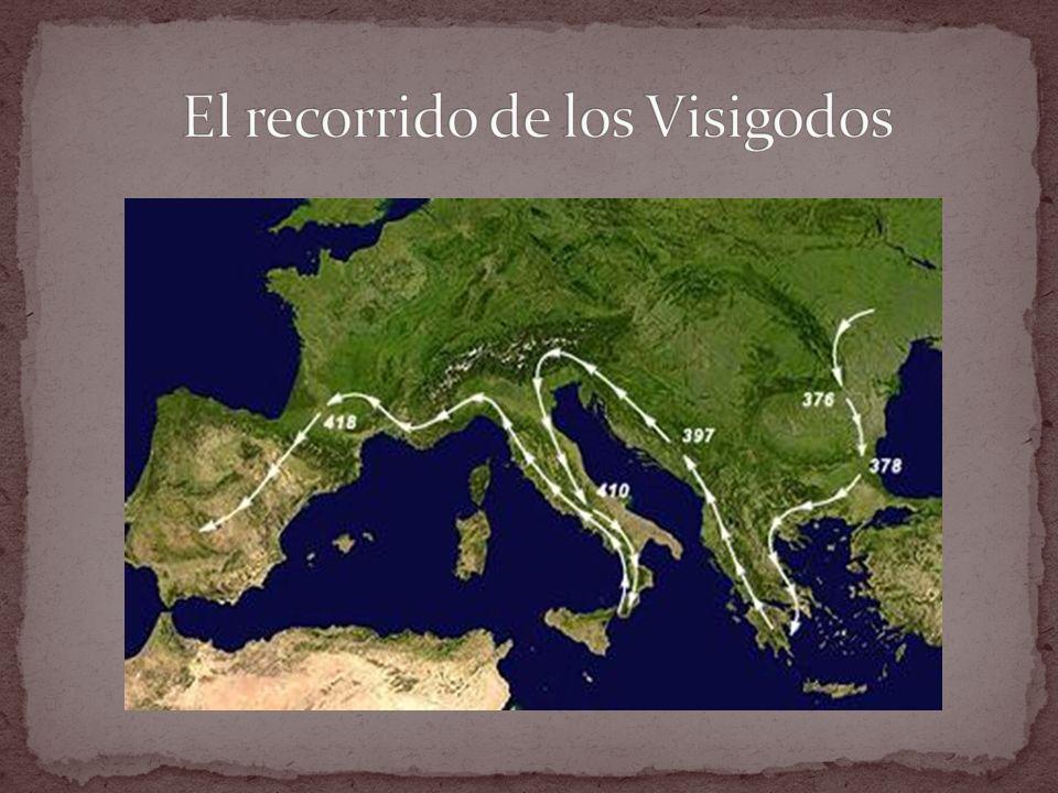 El recorrido de los Visigodos