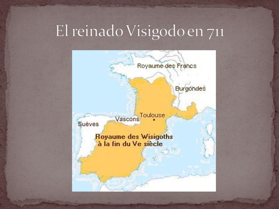 El reinado Visigodo en 711