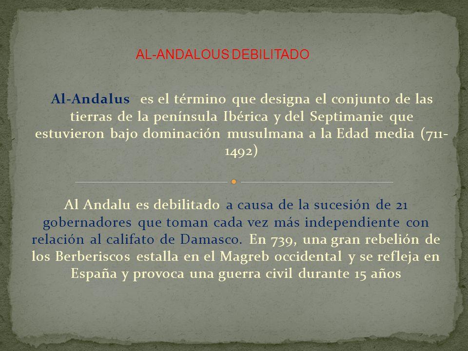 AL-ANDALOUS DEBILITADO