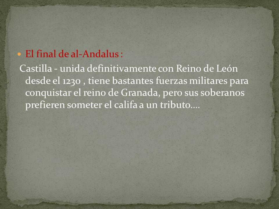 El final de al-Andalus :
