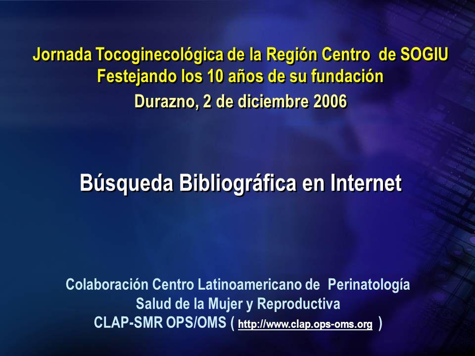 Búsqueda Bibliográfica en Internet