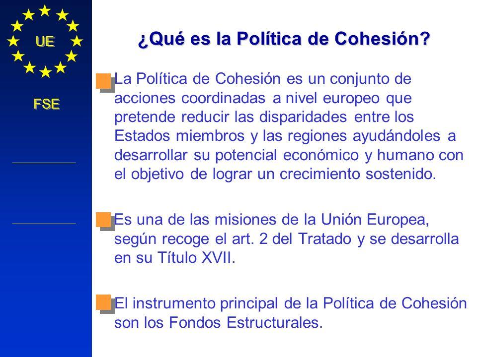 ¿Qué es la Política de Cohesión