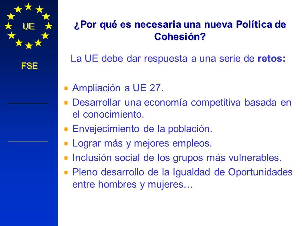 ¿Por qué es necesaria una nueva Política de Cohesión