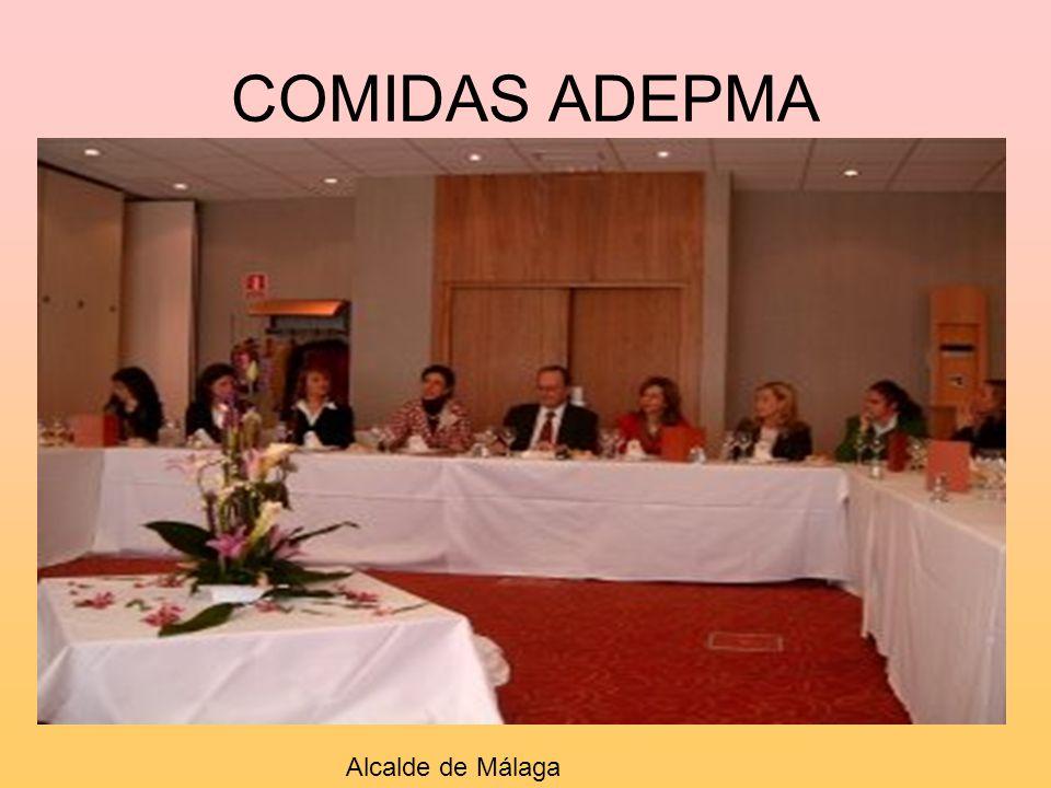 COMIDAS ADEPMA Alcalde de Málaga