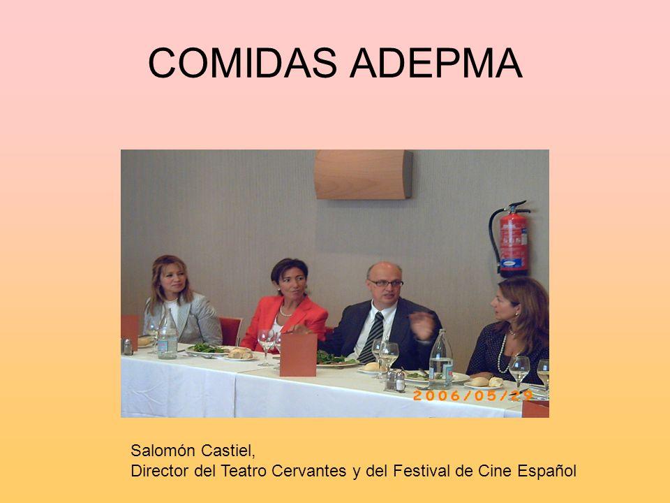 COMIDAS ADEPMA Salomón Castiel,