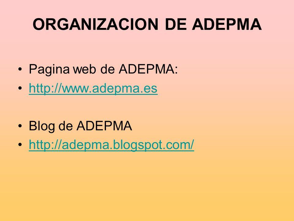ORGANIZACION DE ADEPMA