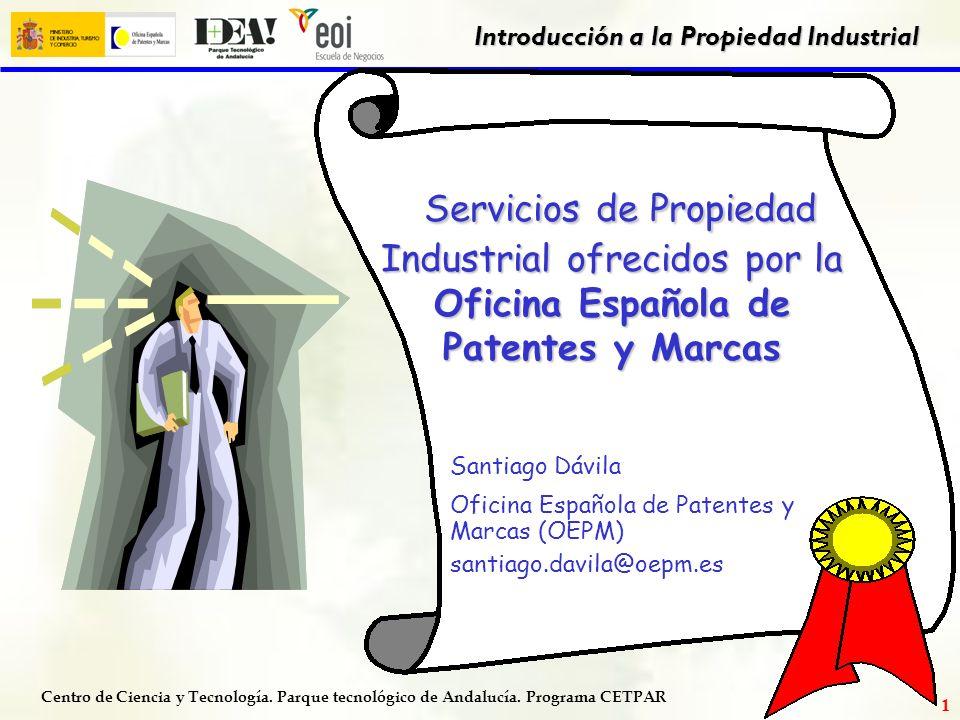 Servicios de Propiedad Industrial ofrecidos por la Oficina Española de Patentes y Marcas