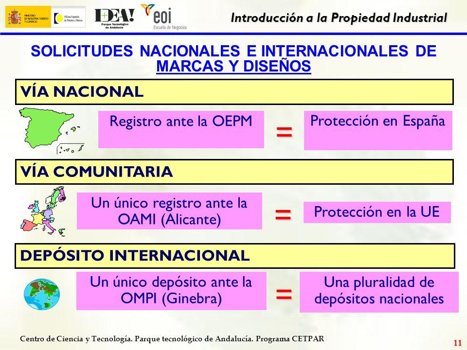 SOLICITUDES NACIONALES E INTERNACIONALES DE MARCAS Y DISEÑOS