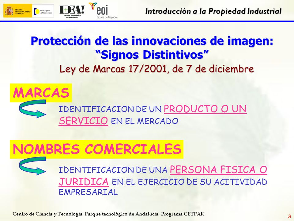 Protección de las innovaciones de imagen: Signos Distintivos