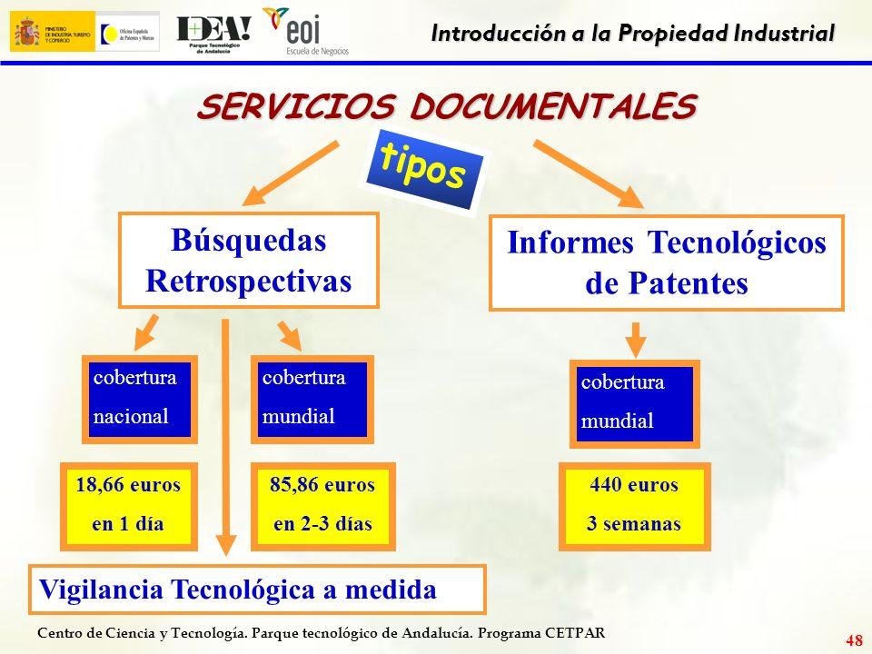 Servicios de propiedad industrial ofrecidos por la oficina - Oficina patentes y marcas ...
