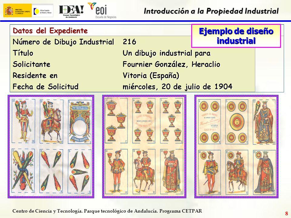 Ejemplo de diseño industrial