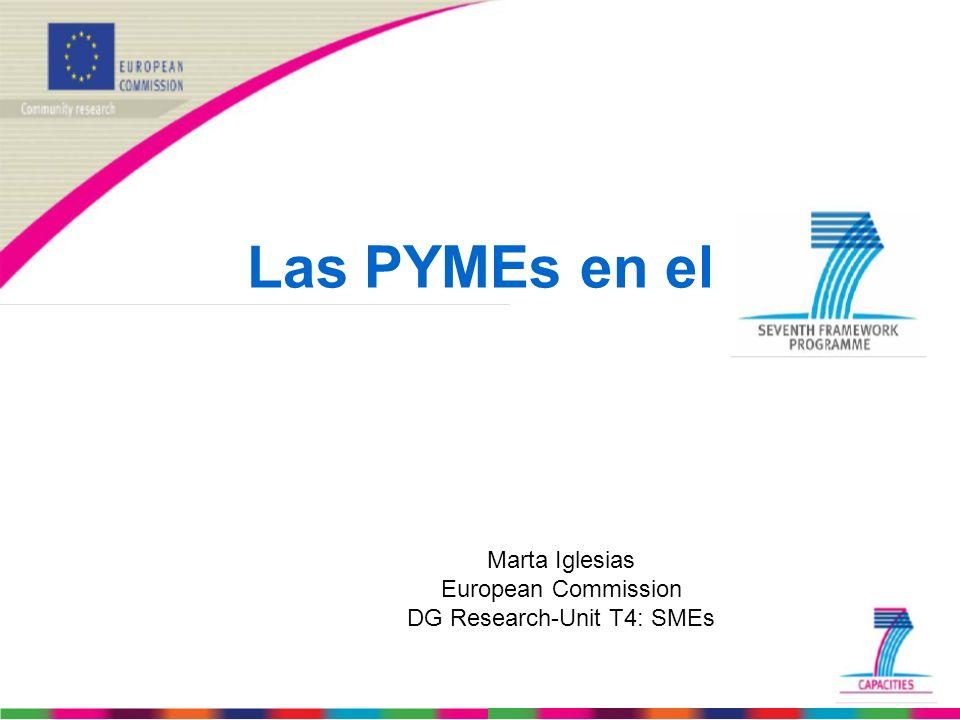 DG Research-Unit T4: SMEs