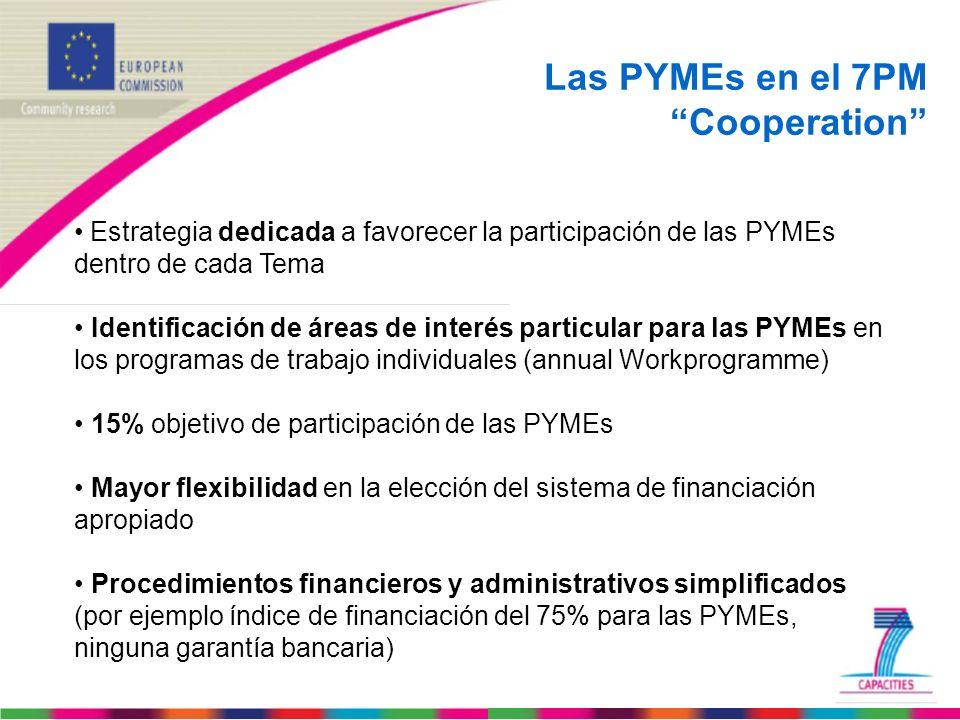 Las PYMEs en el 7PM Cooperation