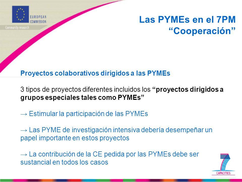 Las PYMEs en el 7PM Cooperación