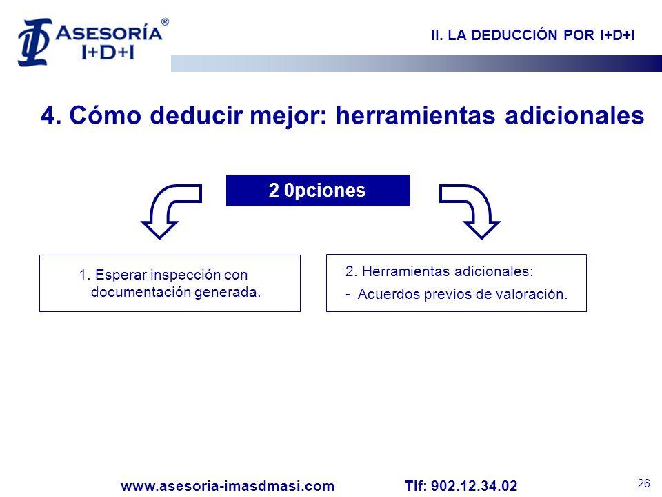 II. LA DEDUCCIÓN POR I+D+I