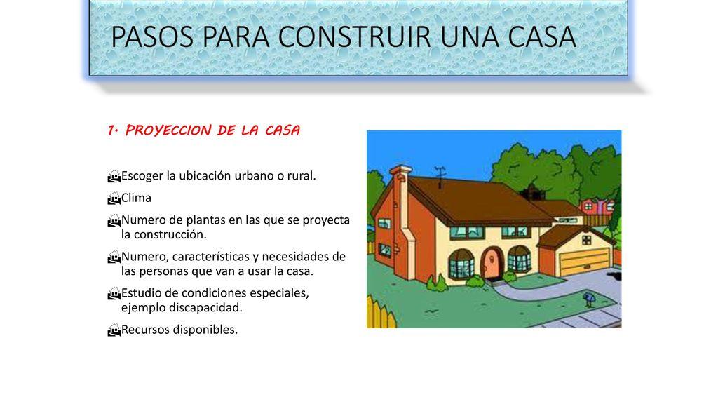 Construcci N De Casas Ppt Descargar