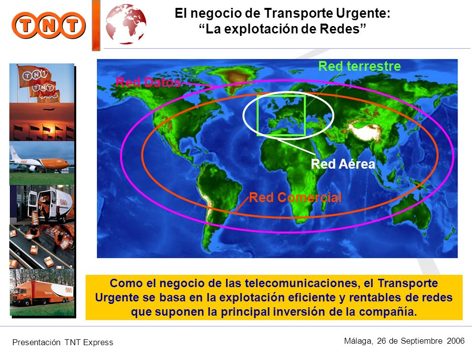 El negocio de Transporte Urgente: La explotación de Redes